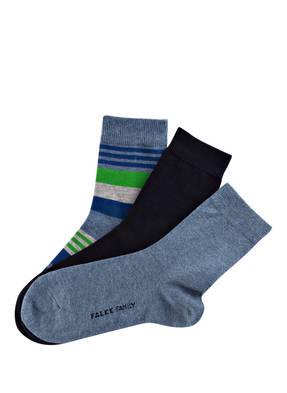 FALKE 3er-Pack Socken