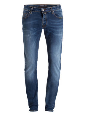JACOB COHEN Destroyed-Jeans NICK Slim-Fit