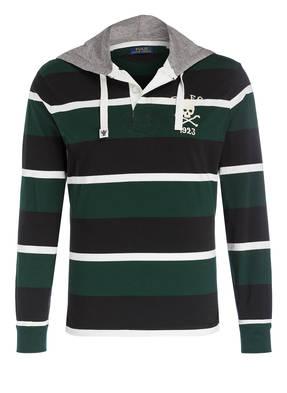 POLO RALPH LAUREN Rugbyshirt mit Kapuze