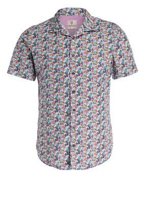 Q1 Manufaktur Halbarm-Hemd OLLY Slim-Fit