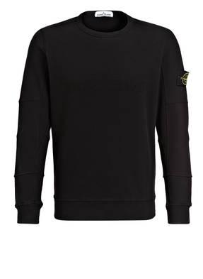 STONE ISLAND Sweatshirt mit monochromem Label-Stitching