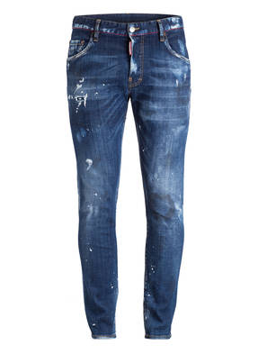 DSQUARED2 Destroyed-Jeans SKATER DAYDREAM Slim Fit