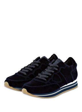 PHILIPPE MODEL Samt-Sneaker TROPEZ