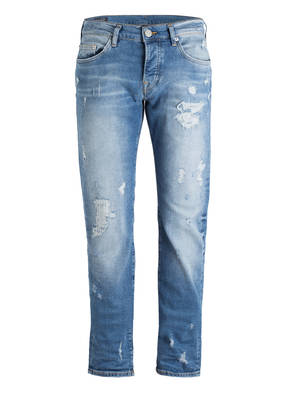 TRUE RELIGION Destroyed-Jeans ROCCO Relaxed Skinny Fit