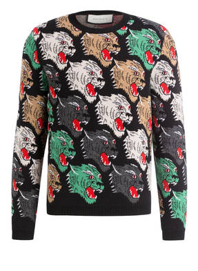 GUCCI Pullover ANGRY PANTHER
