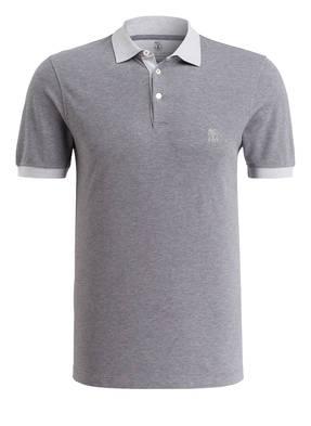 BRUNELLO CUCINELLI Piqué-Poloshirt Slim Fit