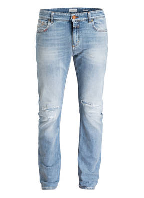 CLOSED Destroyed-Jeans UNITY Slim-Fit