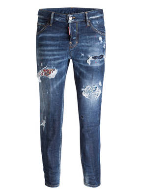 DSQUARED2 7/8-Girlfriend-Jeans