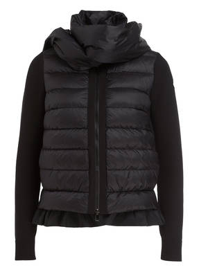 MONCLER Strickjacke im Materialmix