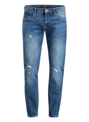 SCOTCH & SODA Destroyed-Jeans Tapered Fit