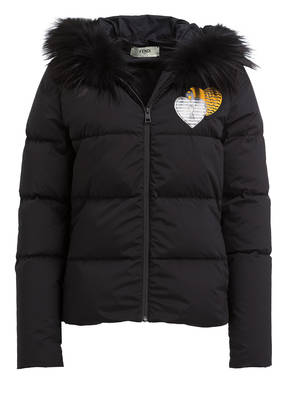 FENDI Daunenjacke OPEN YOUR HEART
