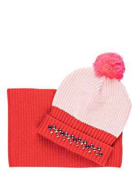 Billieblush Set: Mütze und Schal