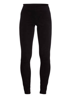 STOULS Veloursleder-Leggings CAROLYN