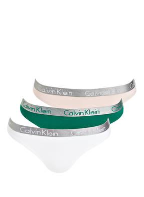 Calvin Klein 3er-Pack Strings