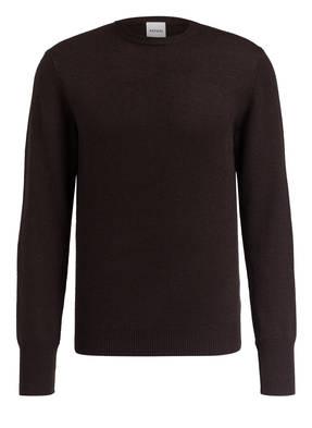 ASPESI Pullover mit Ellenbogen-Patches