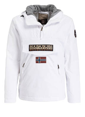 NAPAPIJRI Schlupfjacke RAINFOREST POCKET mit Fleece-Innenseite
