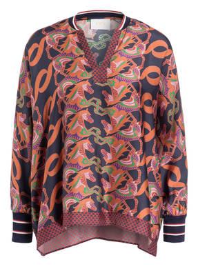 IVI collection Oversized-Bluse aus Seide