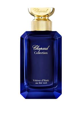 Chopard parfums VÉTIVER D'HAÏTI AU THÉ VERT