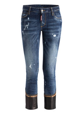 DSQUARED2 Cropped-Jeans RUNWAY FLARE
