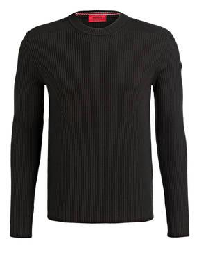 HUGO Schurwoll-Pullover SLOGEN