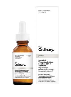 The Ordinary. ASCORBYL TETRAISOPALMITATE SOLUTION 20%
