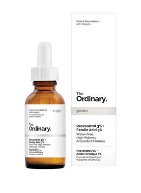 The Ordinary. RESVERATROL 3% + FERULIC ACID 3%