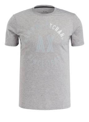 ARMANI EXCHANGE T-Shirt mit monochromem Label-Print