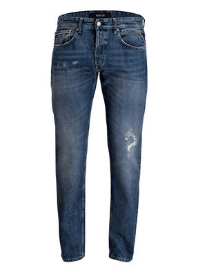 REPLAY Destroyed-Jeans GROVER Tapered Fit
