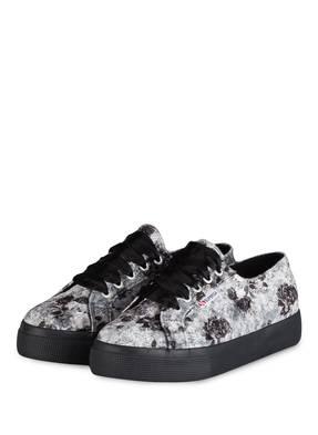 SUPERGA Plateau-Sneaker 2730 VELVETSHINY