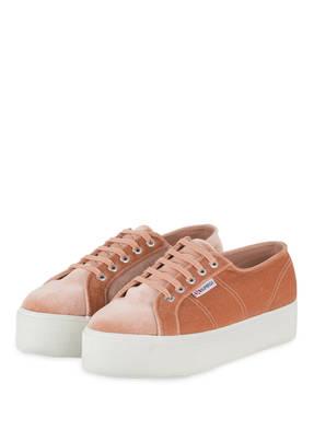 SUPERGA Plateau-Sneaker 2790 VELVET