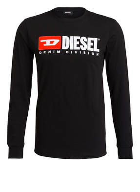 DIESEL Langarmshirt T-JUST-LS-DIVISION
