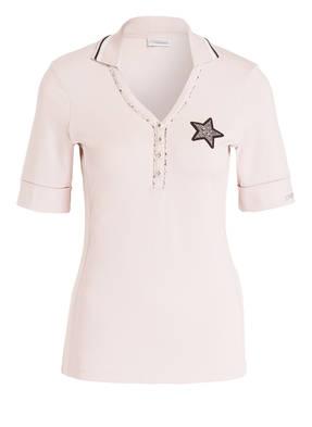 SPORTALM Poloshirt LUXE mit Strasssteinbesatz