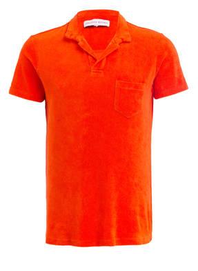 ORLEBAR BROWN Frottee-Poloshirt