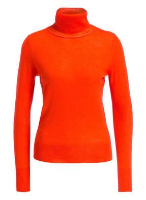 newest 291d6 aba66 Orange gestreifte Rollkragenpullover für Damen online kaufen ...