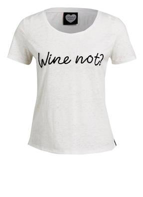 CATWALK JUNKIE T-Shirt WINE NOT