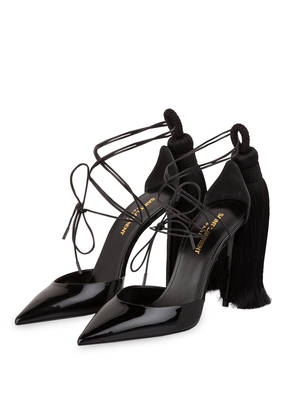 SAINT LAURENT Lack-Pumps ZOE 105