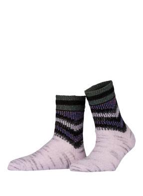 ALTO MILANO Socken TIA mit Mohair-Anteil