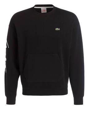 LACOSTE L!VE Sweatshirt mit Stickereien