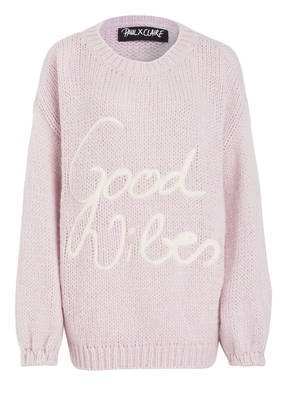 PAUL X CLAIRE Pullover GOOD VIBES