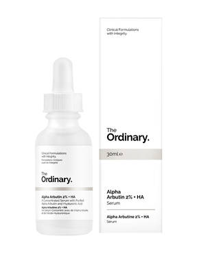 The Ordinary. ALPHA ARBUTIN 2% + HA