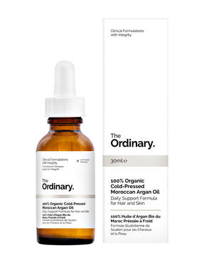 The Ordinary. 100% ORGANIC COLD- PRESSED MOROCCAN ARGAN OIL