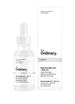 The Ordinary. NIACINAMIDE 10% + ZINC 1%