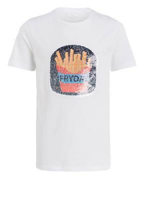 TOM TAILOR T-shirt mit Wendepailletten