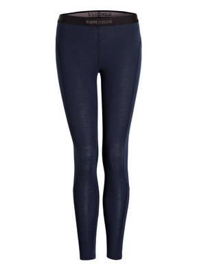 super.natural Funktionswäsche-Hose BASE TIGHT 175 mit Merinowolle-Anteil
