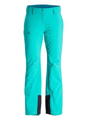 Grüne SALOMON Skihosen online kaufen :: BREUNINGER