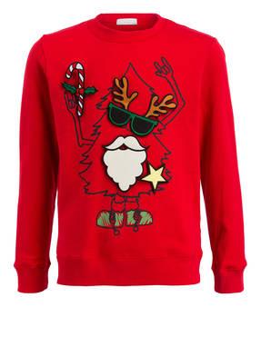 STELLA McCARTNEY KIDS Sweatshirt mit Klett-Patches
