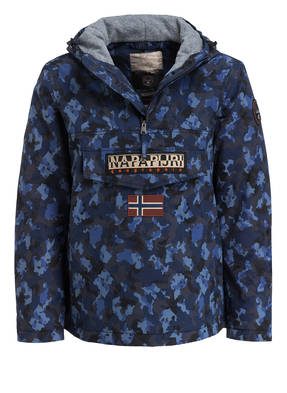 NAPAPIJRI Schlupfjacke RAINFOREST mit Fleece-Innenseite