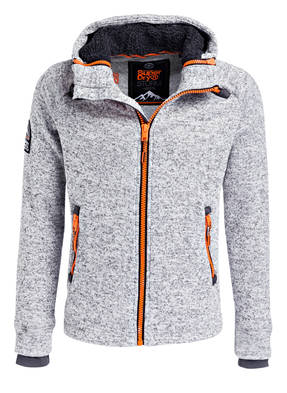 Superdry Strick- Fleecejacke STORM