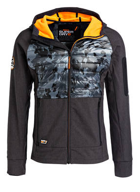 Superdry Softshell-Jacke MOUNTAIN im Materialmix