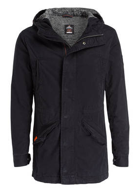 Superdry Parka NEW MILITARY mit Teddyfellfutter
